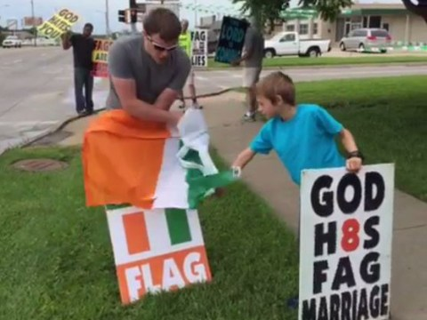 Westboro Baptist Church fail spectacularly at Irish gay marriage protest