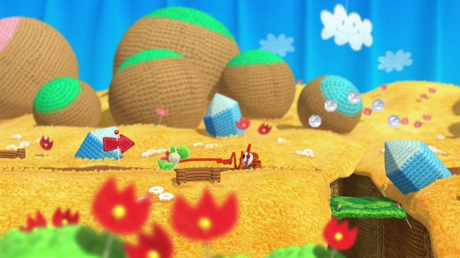Yoshi's Woolly World (Wii U) - isn't it just adorable?