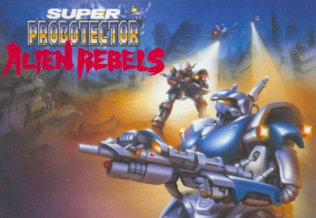 Super Probotector - one of the best