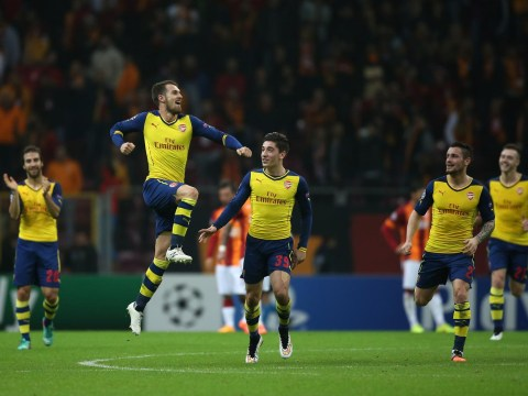 Aaron Ramsey's stunning strike against Galatasaray wins Arsenal goal of the season