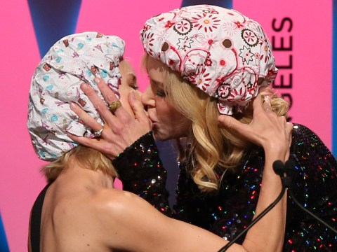 Nicole Kidman smooches BFF Naomi Watts after revealing she once turned down role because she had to kiss a girl