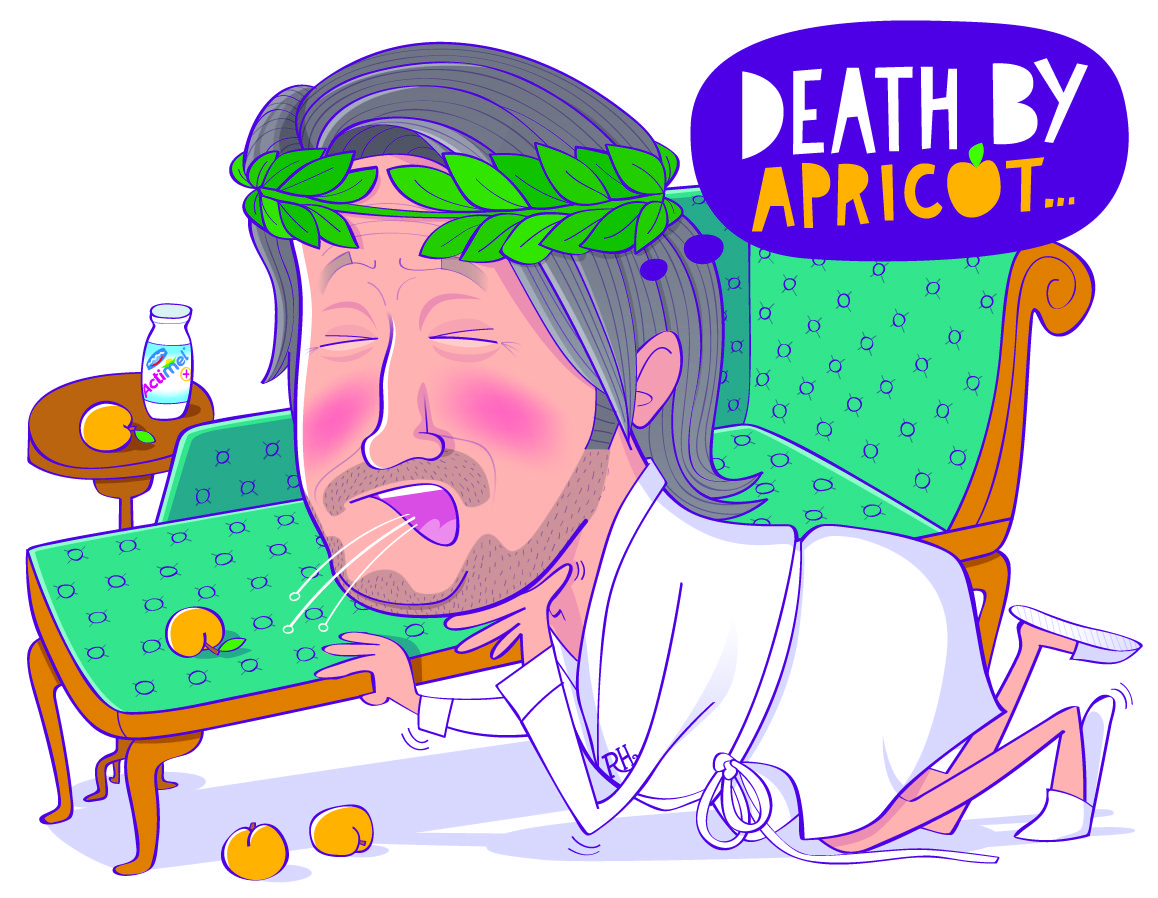 Richard Herring: Stone me! This is no way to cark it