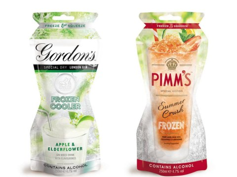 Gordon's gin & tonic and Pimm's slushies are everything