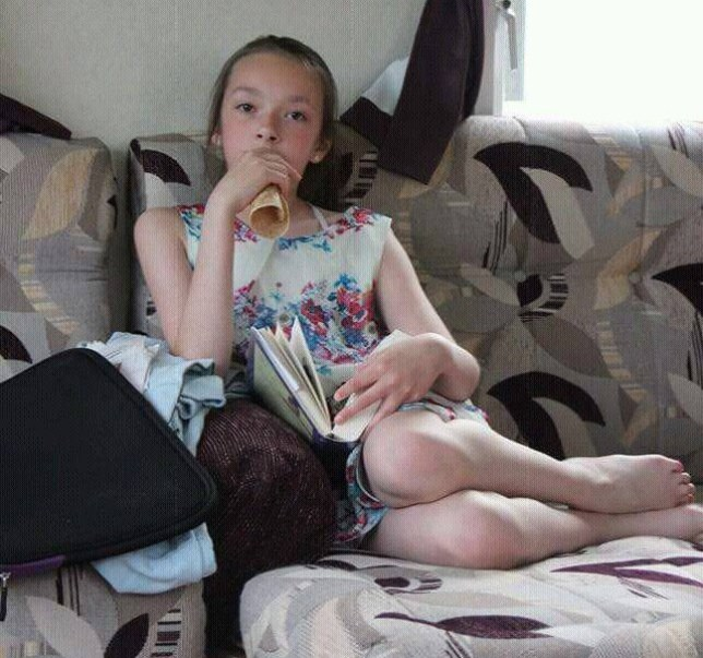 Pictured -Amber Peat, 13, from Mansfield, who has been missing since Saturday. See Ross Parry copy RPYMISSING. Police say they are concerned for the safety of a 13-year-old girl missing from her Nottinghamshire home. Amber Peat was last seen at her home in Bosworth Street in Mansfield at about 17:30 BST on Saturday. Her father Danny Peat said hundreds of people had helped search for his daughter since she left home without any money or a mobile phone.