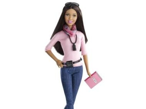Now she's representing: New Barbie has adjustable ankles to wear flats AND high-heels