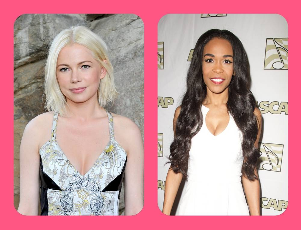 Will the real Michelle Williams please stand up? Check out these celebrities who have the same name
