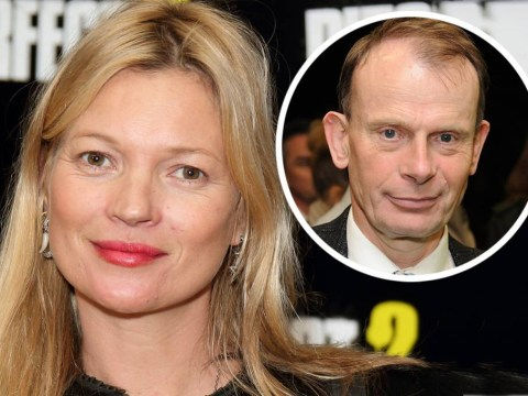 Kate Moss once demanded that Andrew Marr give her his seat