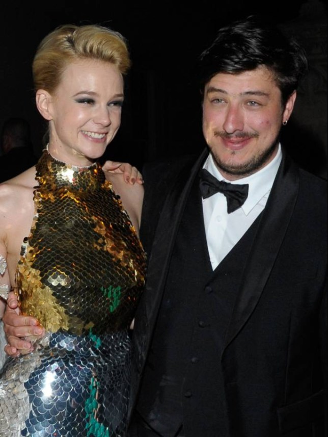 """FILE - JUNE 08: Actress Carey Mulligan and musician Marcus Mumford are expecting their first child together. NEW YORK, NY - MAY 07:   (EDITORS NOTE: This image is a re-crop of original file 144037304) Carey Mulligan (L) and new husband Marcus Mumford attend the after party for the """"Schiaparelli and Prada: Impossible Conversations"""" Costume Institute exhibition on May 7, 2012 in New York City.  (Photo by Dave Kotinsky/Getty Images)"""