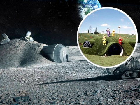Planned moon village looks just like the Teletubbies' house