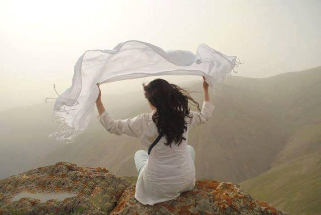 Iranian women taking a stand for their freedom  Source: Facebook/My Stealthy Freedom