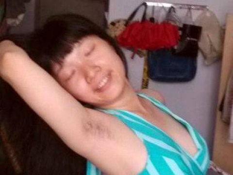 Meet the winners of China's 'Women's Armpit Hair Competition'