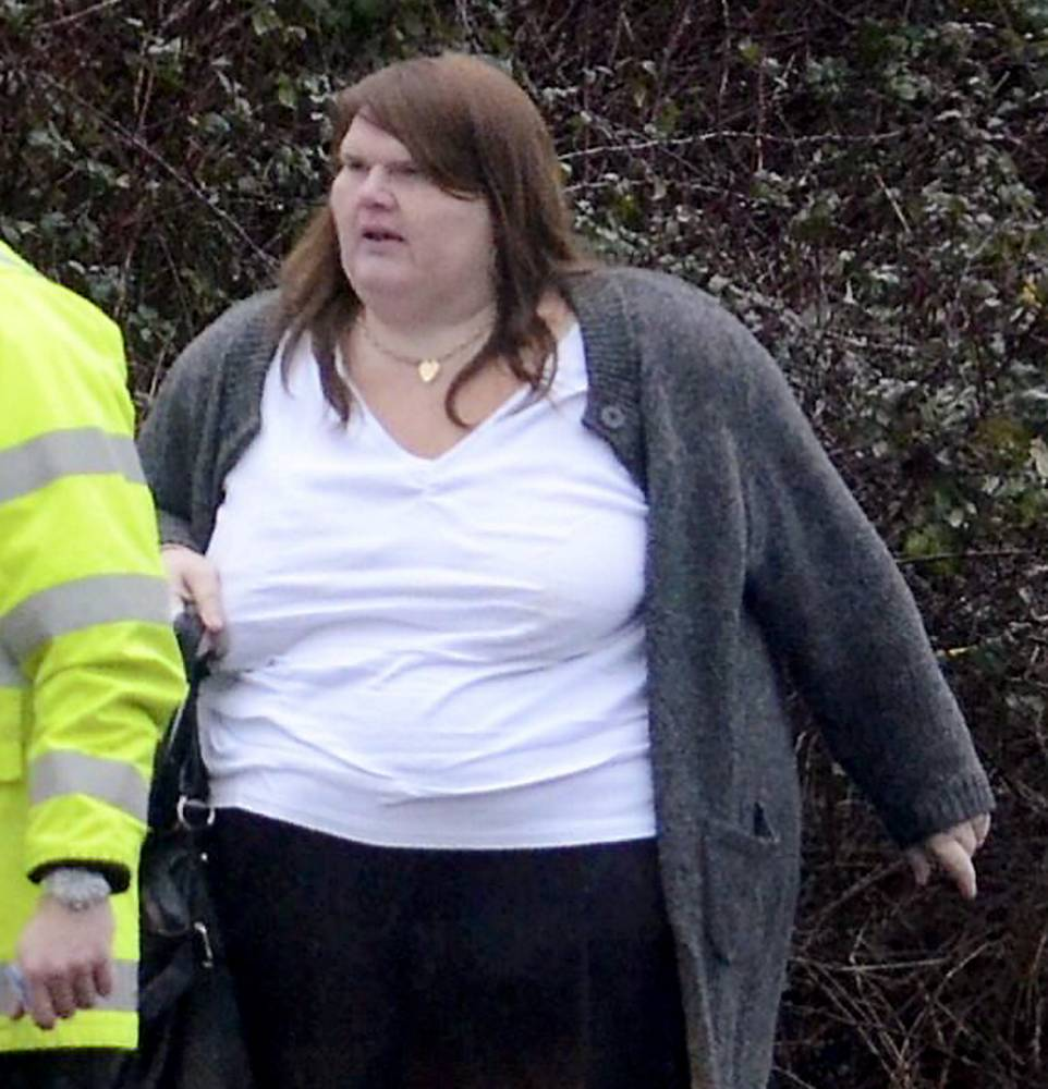 Obese driver who killed jogger after running red light says she's 'too overweight to go to prison'