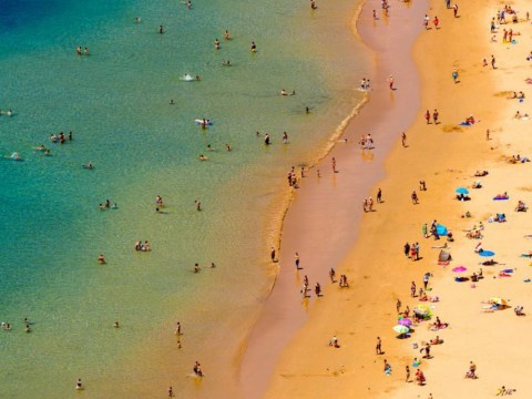 British tourists are total prudes on the beach, says survey
