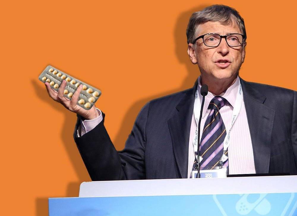 Bill Gates is making a single-dose, permanent contraceptive