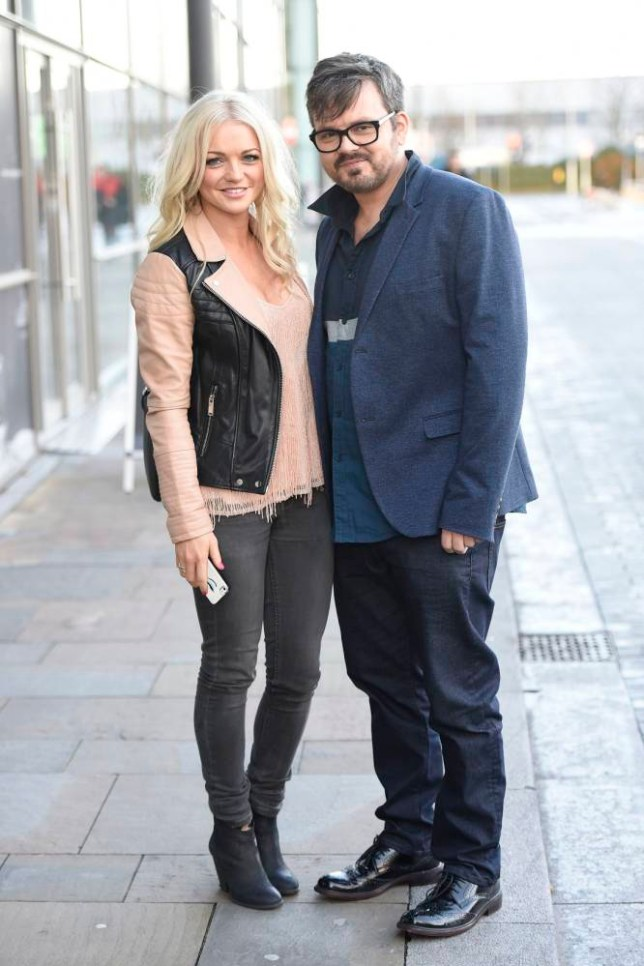 18.NOVEMBER.2014 - MANCHESTER - UKnnHANNAH SPEARRITT AND PAUL CATTERMOLE OF S CLUB 7 SEEN AT BBC BREAKFAST IN MANCHESTER, UK.nnBYLINE MUST READ : XPOSUREPHOTOS.COMnn***UK CLIENTS - PICTURES CONTAINING CHILDREN PLEASE PIXELATE FACE PRIOR TO PUBLICATION ***nn**UK CLIENTS MUST CALL PRIOR TO TV OR ONLINE USAGE PLEASE TELEPHONE   44 208 344 2007 **