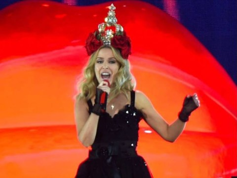 Kylie Minogue just sang the theme from Neighbours at her gig in Hyde Park