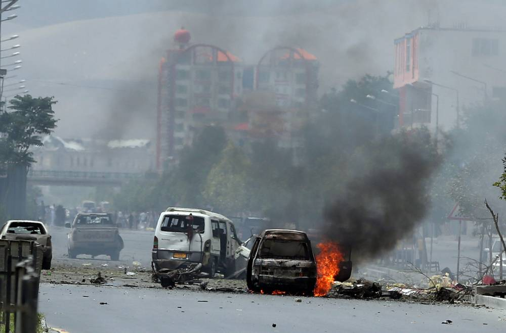 Six Taliban gunmen killed after launching attack on Afghan parliament