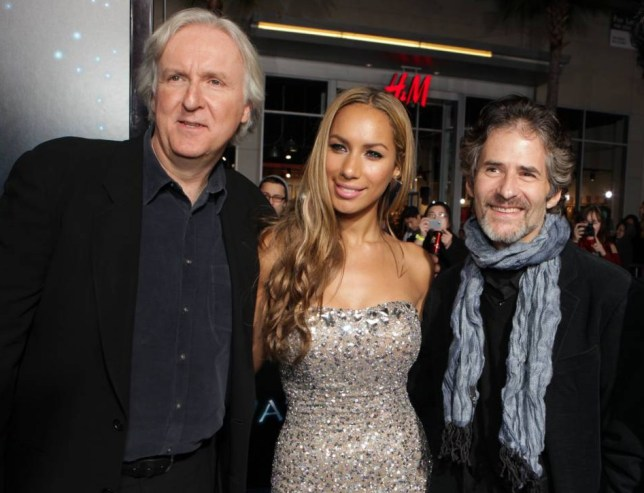 Mandatory Credit: Photo by Charbonneau/REX Shutterstock (4377644he)  HOLLYWOOD, CA - DECEMBER 16: Director James Cameron, Leona Lewis and Composer James Horner at 20th Century Fox Los Angeles Premiere of 'Avatar' on December 16, 2009 at Mann's Chinese Theatre in Hollywood, California.   20th Century Fox Los Angeles Premiere of 'Avatar'  Hollywood Los Angeles, America.