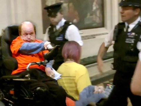 Dozens of disabled protesters storm PMQs to oppose benefit cuts