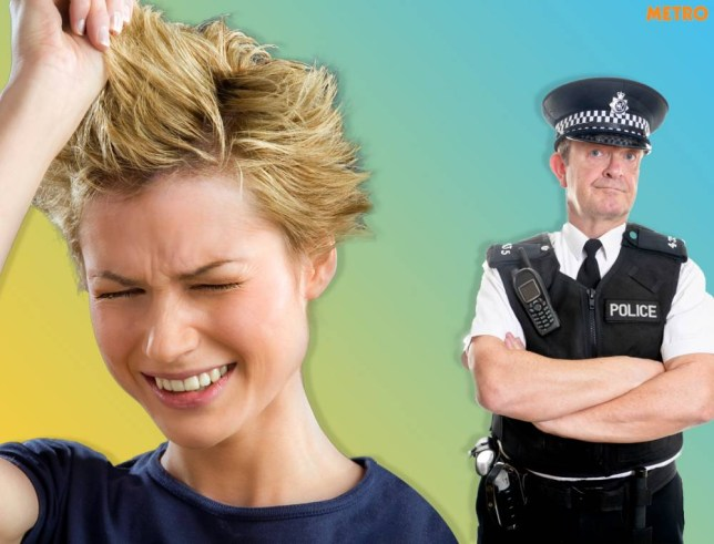woman calls cops after getting a bad hair cut