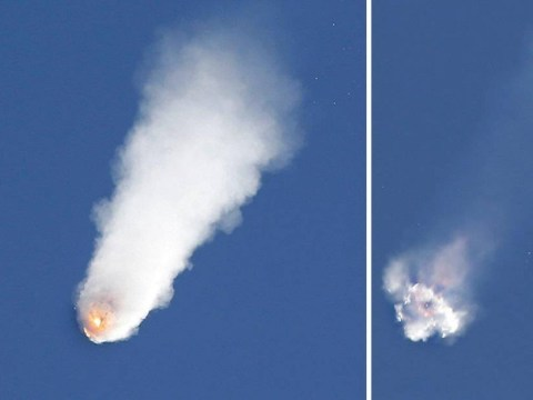 SpaceX rocket explodes shortly after lift off