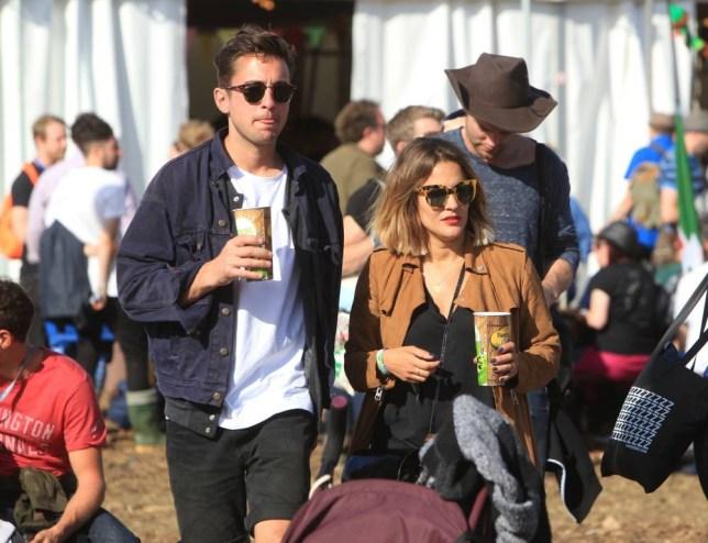 Glastonbury Festival 2015 - Day 5 - Celebrity Sightings Featuring: Caroline Flack Where: Somerset, United Kingdom When: 28 Jun 2015 Credit: David Sims/WENN.com