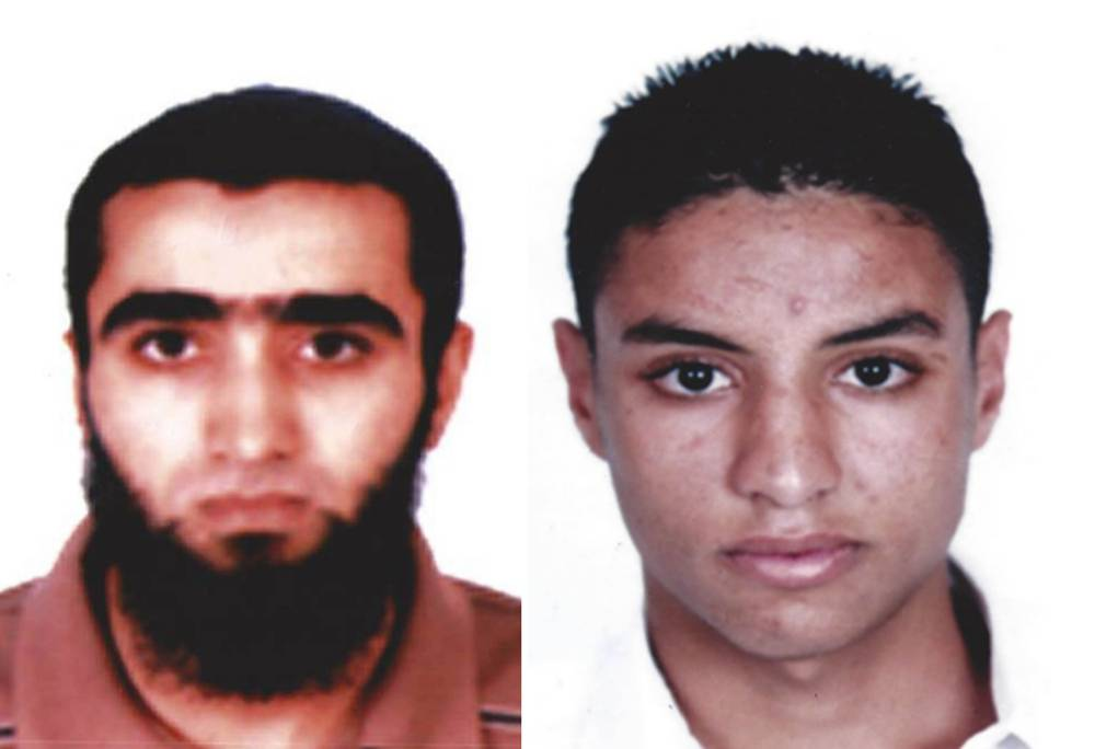 Undated handout photo issued by the Tunisian Interior Ministry of Bin Abdallah (left) and Rafkhe Talari,  who are being sought by Tunisian authorities in connection with the terror attack in Sousse, Tunisia. PRESS ASSOCIATION Photo. Issue date: Tuesday June 30, 2015. See PA story POLICE Tunisia. Photo credit should read: Tunisian Interior Ministry /PA Wire NOTE TO EDITORS: This handout photo may only be used in for editorial reporting purposes for the contemporaneous illustration of events, things or the people in the image or facts mentioned in the caption. Reuse of the picture may require further permission from the copyright holder.