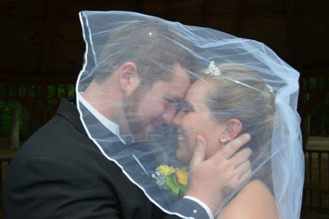Husband plans second wedding after his wife loses her memory  Source: Facebook/Justice Stamper