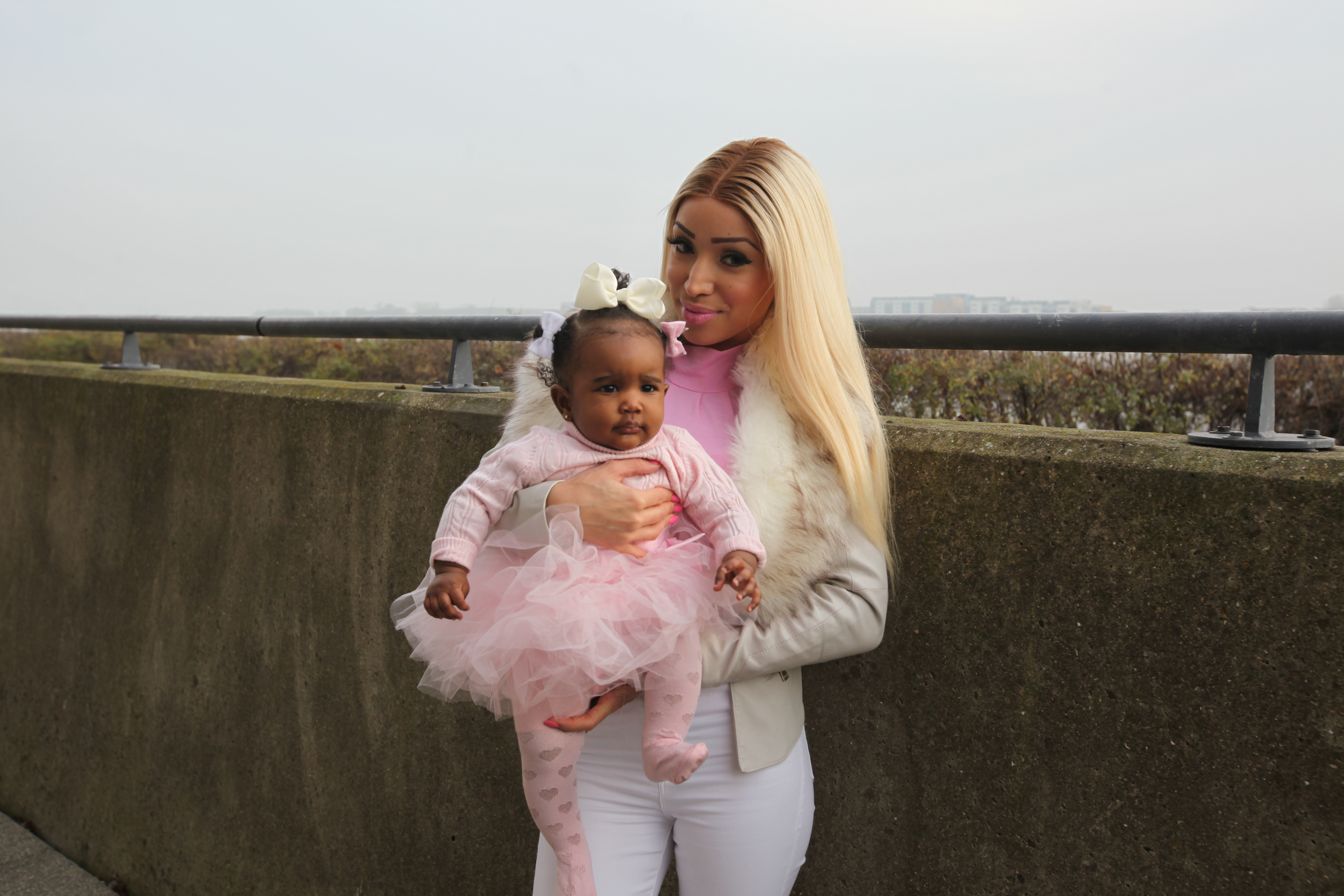 Delicia Kikulwe (29) and Dior (5 months)