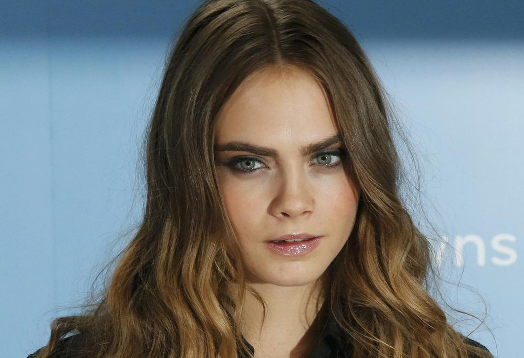 "Cast member Cara Delevingne poses for photos at a photo call promoting her film ""Paper Towns"" at Claridges in London Suzanne Plunkett/Reuters"