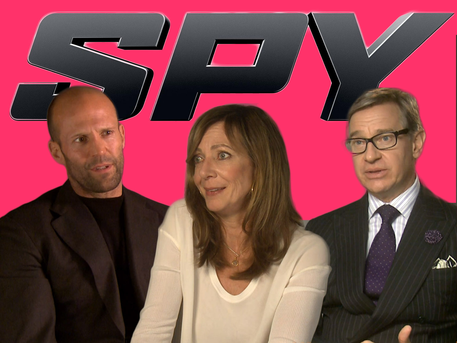 EXCLUSIVE: Jason Statham, Allison Janney and Spy director Paul Feig big up Melissa McCarthy