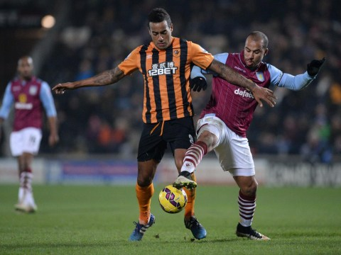 Aston Villa 'to table £5.5.m transfer bid for Hull City's Tom Huddlestone'