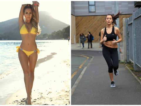 Celebrity Big Brother's Chloe Goodman drops down to 7st 10lbs after 10-week fitness challenge