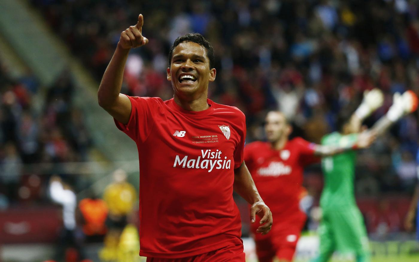 Agent: 'Sevilla striker Carlos Bacca is keen on completing transfer to Liverpool'