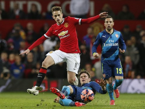 Everton 'lining up loan move for Manchester United midfielder Adnan Januzaj'