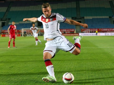 Lukas Podolski 'considering offer from Galatasaray to complete £1.4m transfer away from Arsenal'