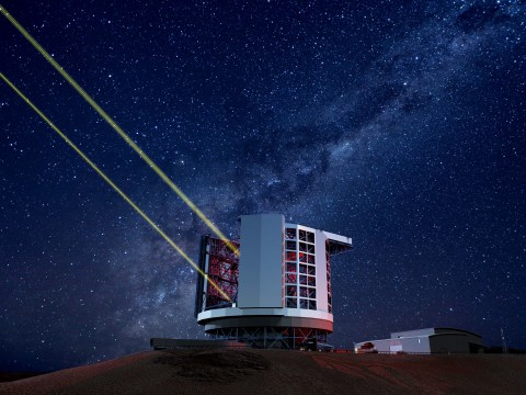 New 'giant' telescope will let us see further than we've ever seen before