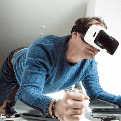 Virtual workouts just got very real