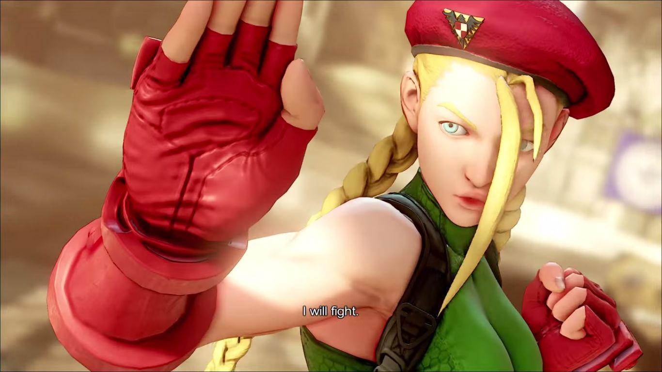 Street Fighter V - Cammy spirals in