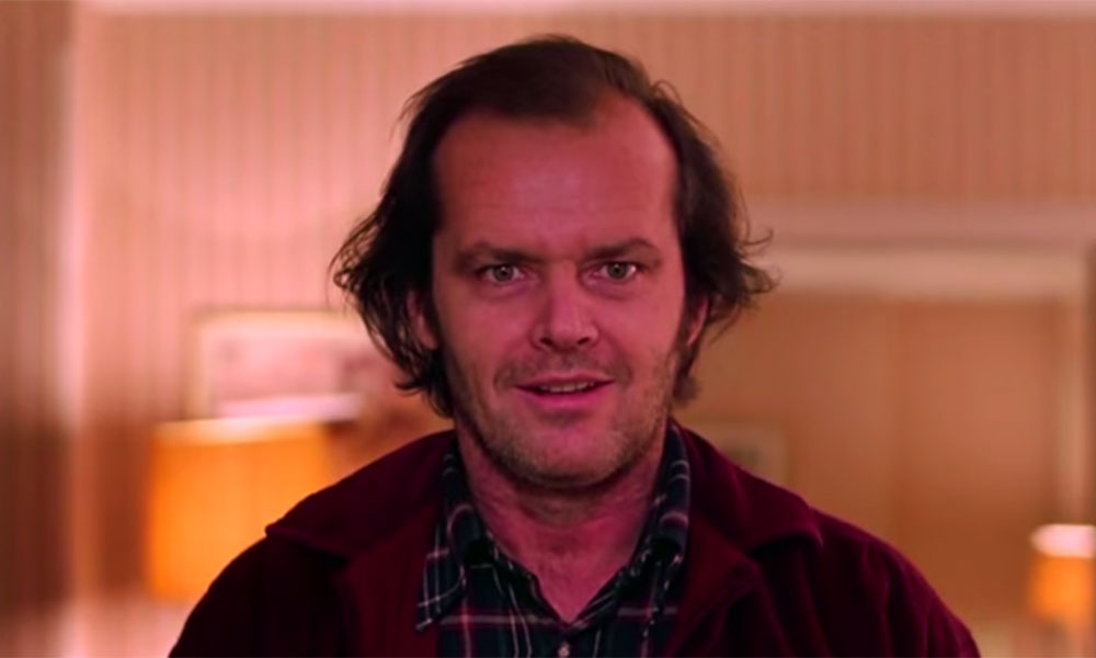 Jack Nicholson The Grand Overlook Hotel