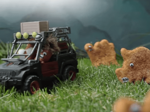 This Jurassic World trailer remade using sausages and turkey dinosaurs is everything