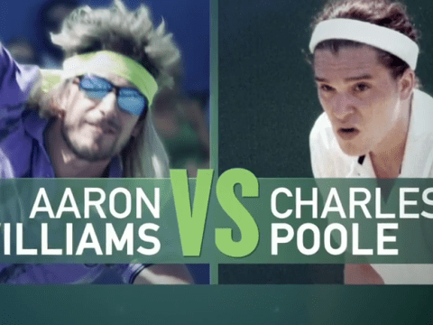 Kit Harington looks super funny in his tennis whites in the 7 Days In Hell teaser trailer