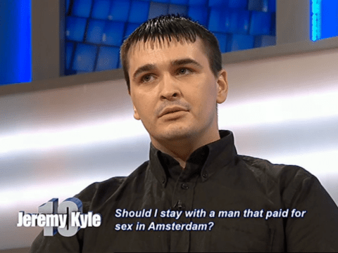 Man appears on The Jeremy Kyle Show accused of sleeping with a prostitute, judged for his terrible haircut
