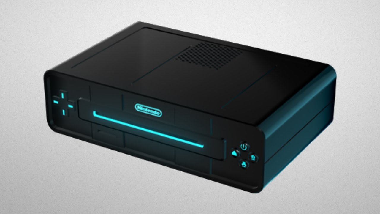 A fan-made mock-up of the Nintendo NX