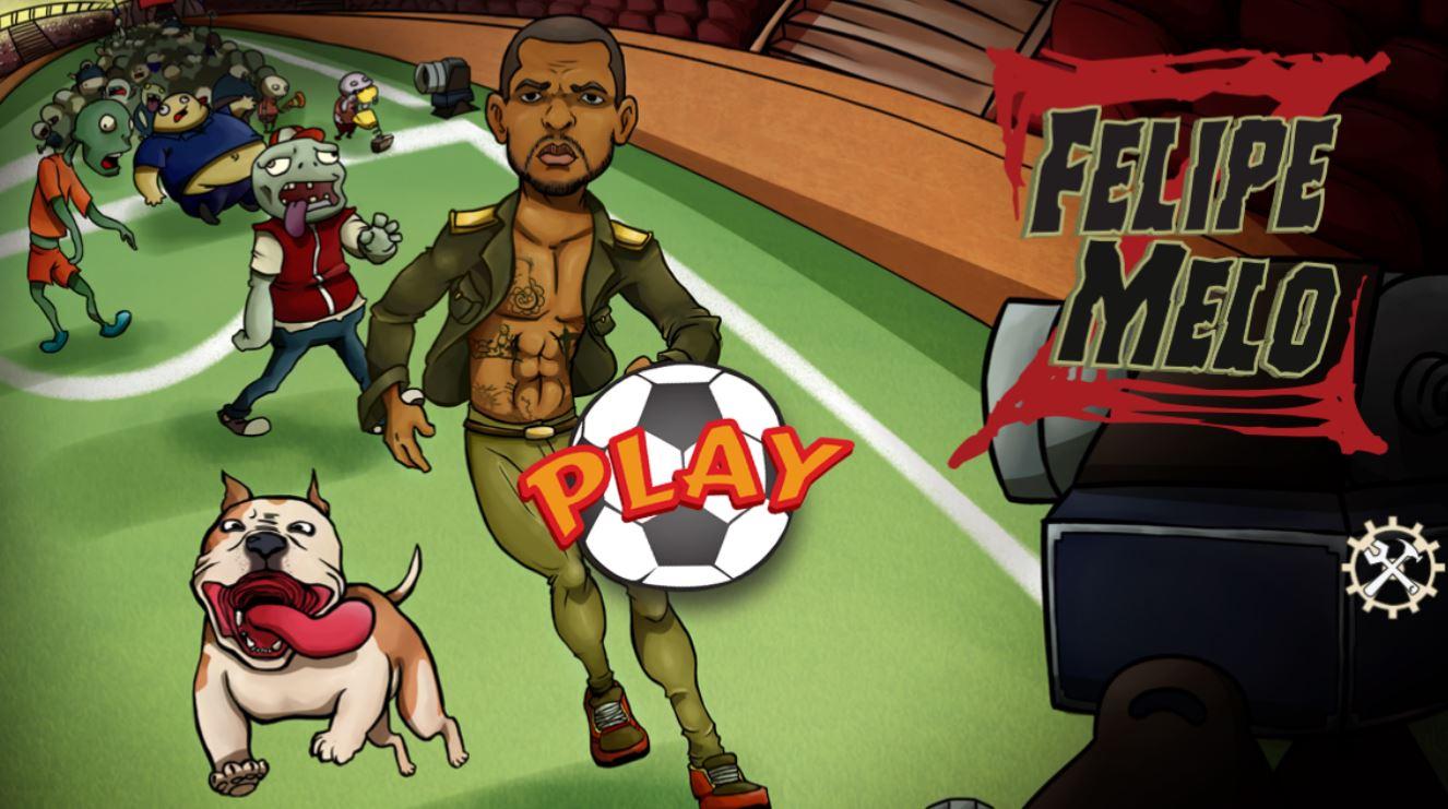 Felipe Melo creates own app where you help him fight off zombie apocalypse