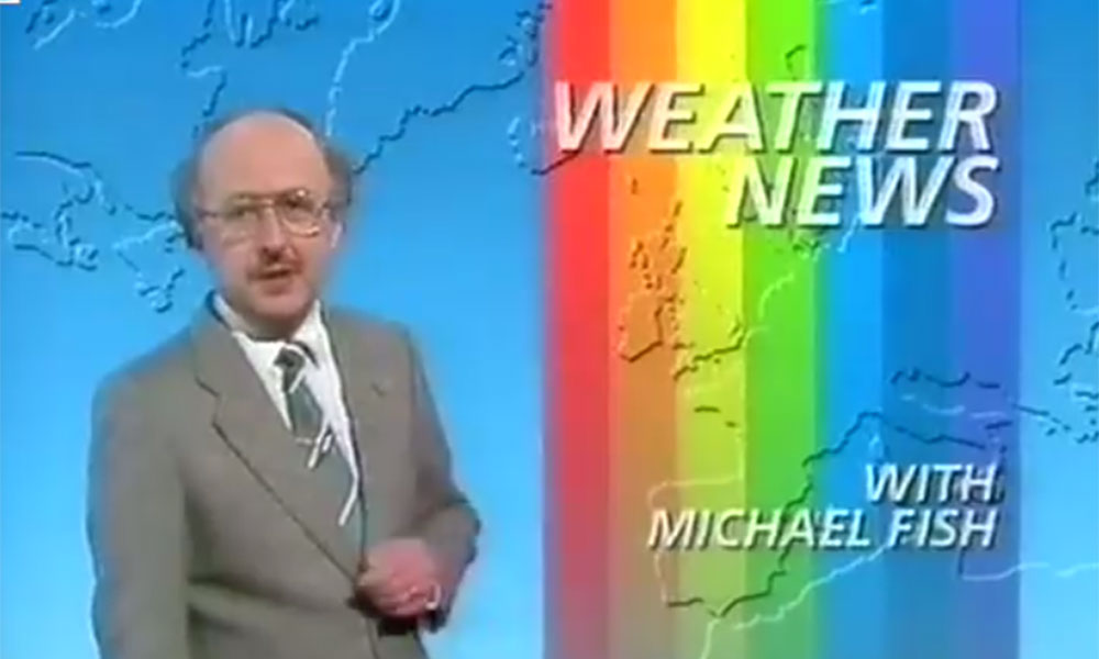 From Michael Fish to Bobby Ewing, 12 moments of extreme awkwardness from 80s TV