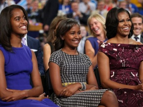 Michelle Obama heading to London with daughters and her mother