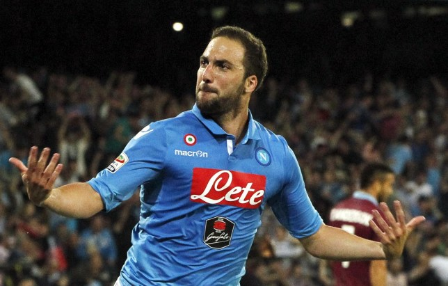 Gonzalo Higuain could be on the move this summer (Picture:Reuters)