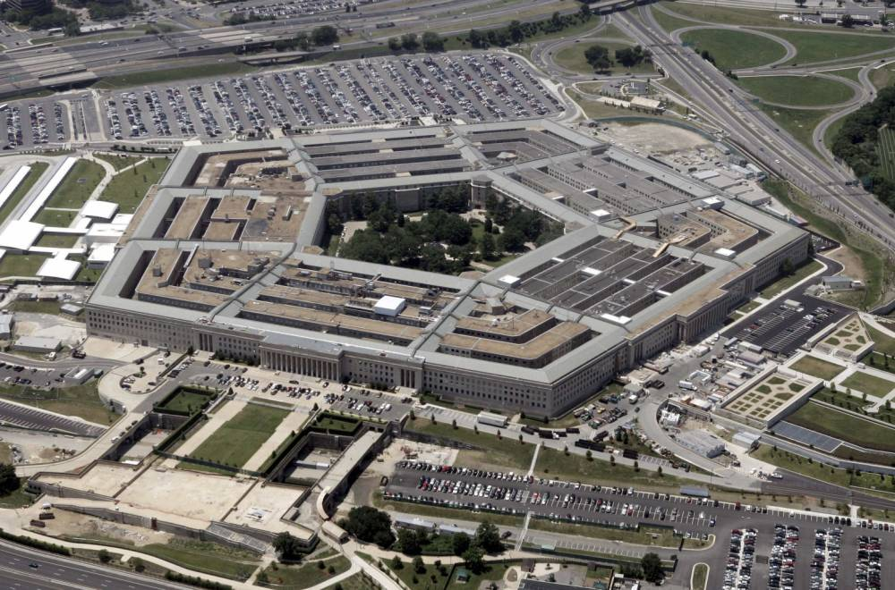 An aerial view of the Pentagon building in Washington. US Defense Secretary Donald Rumsfeld defended the Guantanamo prison against critics who want it closed by saying US taxpayers have a big financial stake in it and no other facility could replace it.