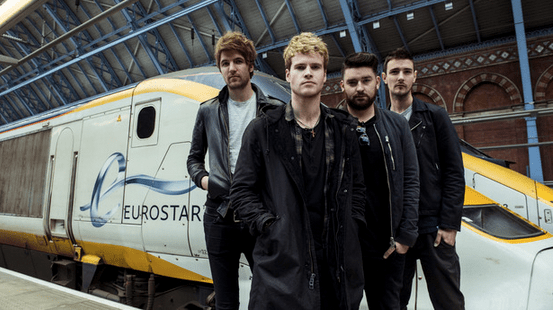 Kodaline ahead of their performance on the Eurostar (Picture: Reuters)